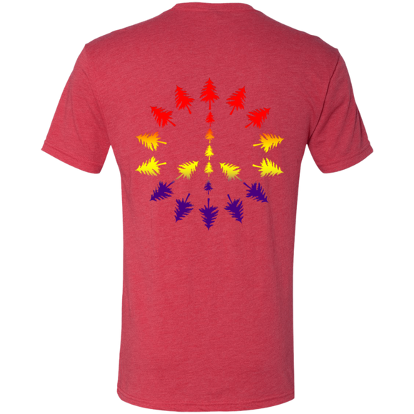 PEACE TREES - Mens' Triblend Tee