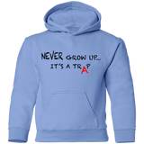 NEVER GROW UP - Kids Hoodie