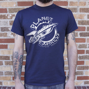 Planet Express Spaceship T-Shirt (Mens)