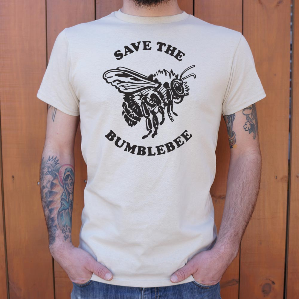 Save The Bumblebee T-Shirt (Mens)