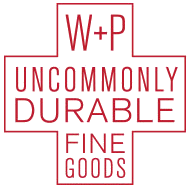 W+P Uncommonly Durable Fine Goods
