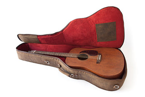 Georgia Brown Guitar Case