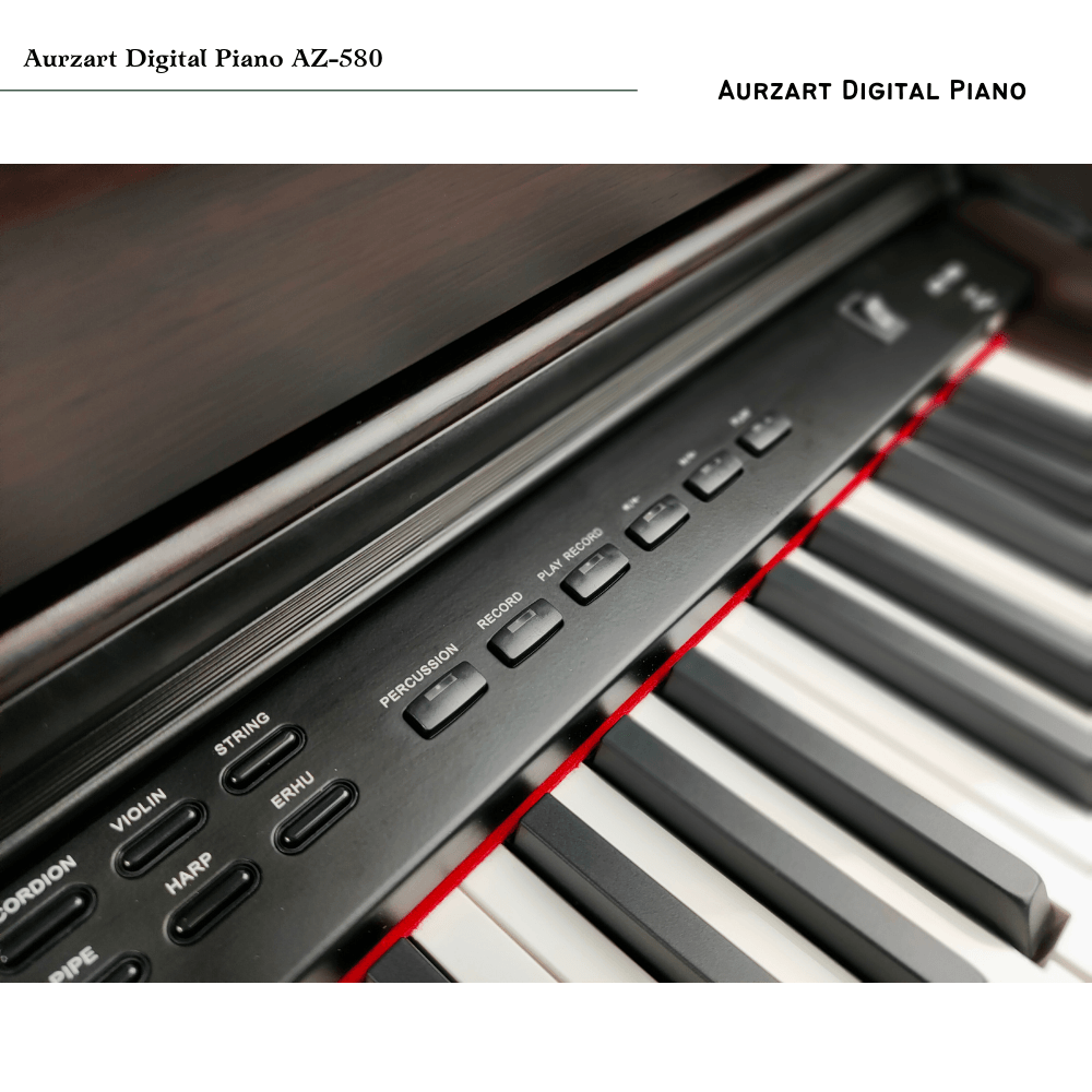 AURZART AZ-580 I 88 Key Digital Piano I Hammer Action Key
