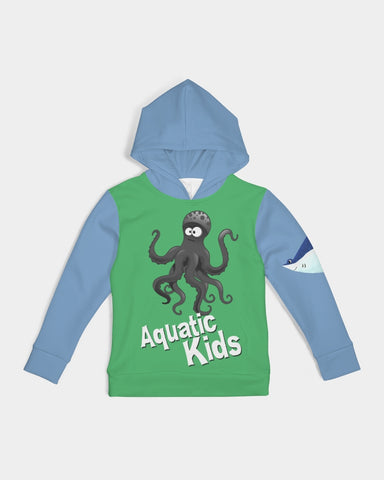 Aquatic Kid  Octopus  Edition  Kids Hoodie