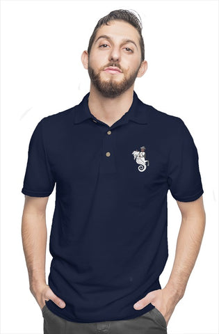 SeaHorse Riding  cotton polo