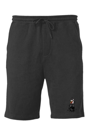 BeardedTracks Panther Rocks Fleece Shorts