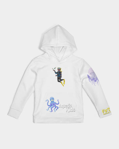 Aquatic Kid Kids Hoodie Gold Edition
