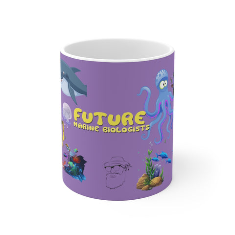 #9.1Akqautic Kid  2 Mug 11oz