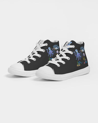 Original  Aquatic Kids Edition A Hightop Canvas Shoe