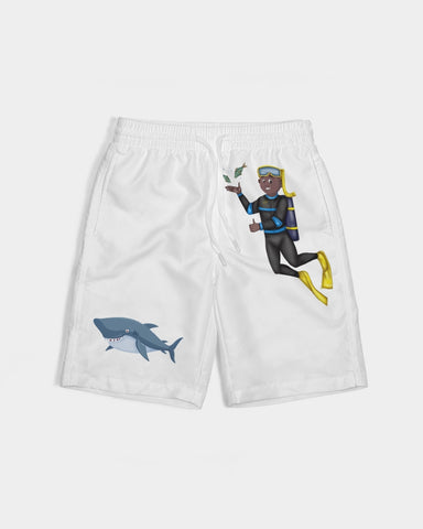 Aquatic Kid Boy's Swim Trunk Gold Edition