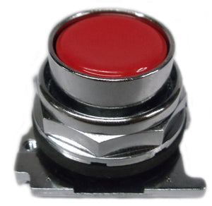 Eaton 10250T102 30.5 mm, Heavy-Duty, Pushbutton Operator, Flush, Red Eaton 10250T102