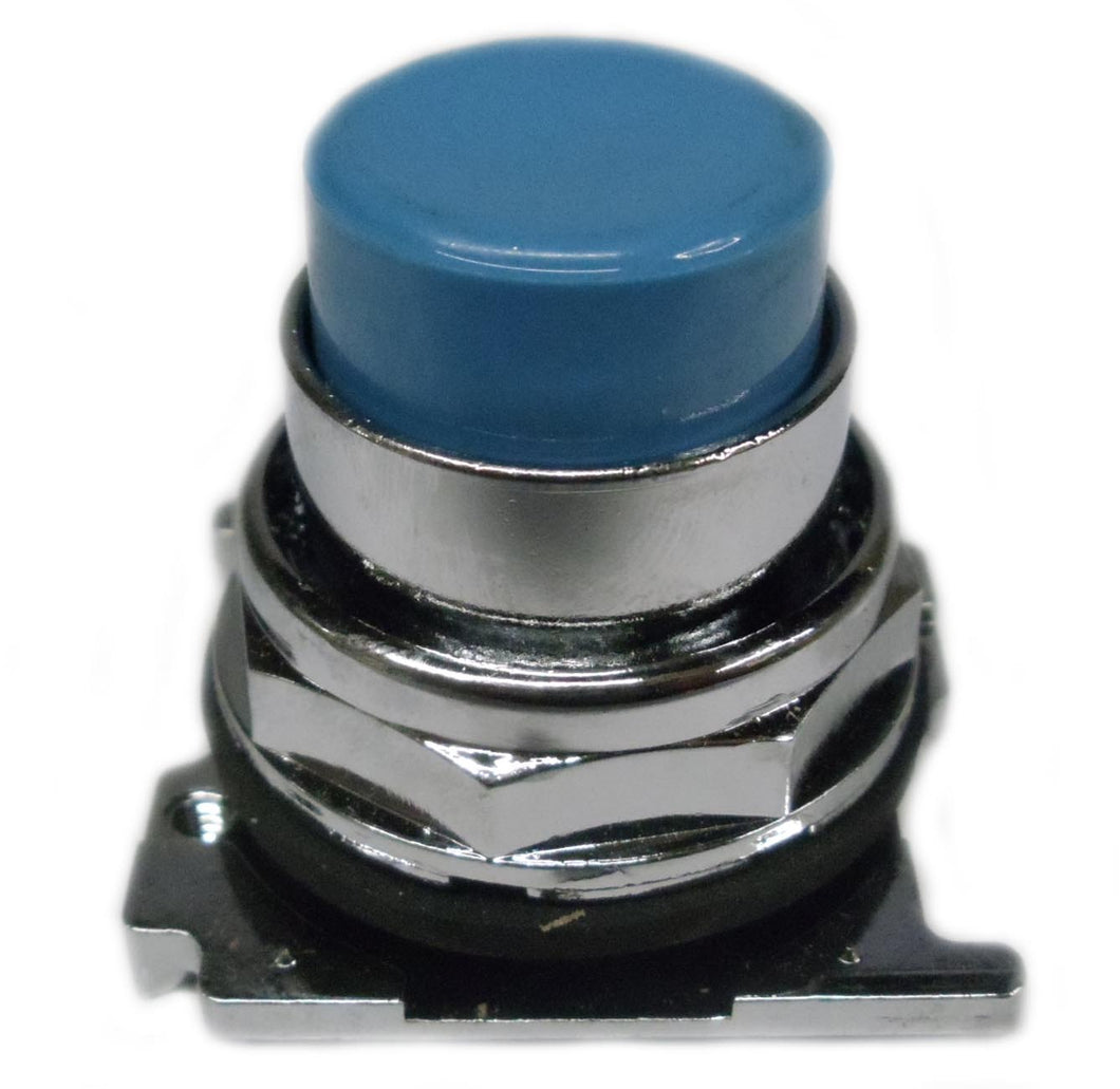 Eaton 10250T118 30.5 Mm, Heavy-Duty Pushbutton Operator, Extended, Blue Eaton 10250T118