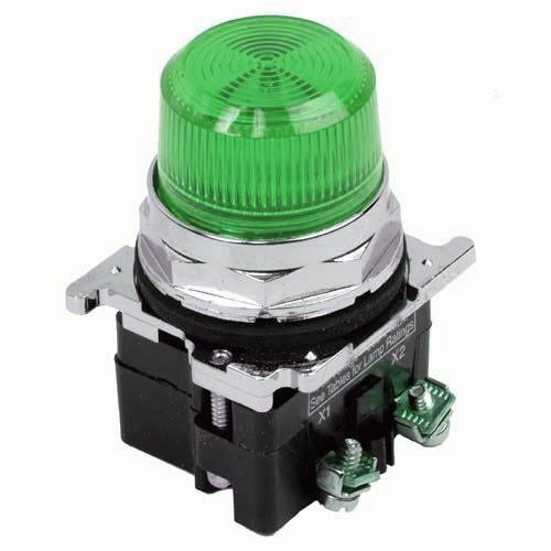 Eaton 10250T197LGP2A 30mm Assembled Indicator Light, Green, 10250T Eaton 10250T197LGP2A