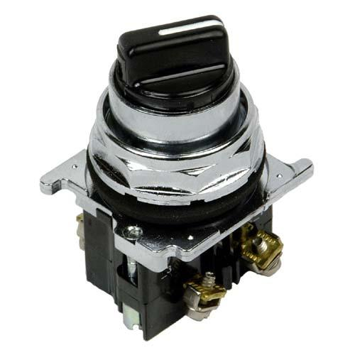 Eaton 10250T21KB Selector Switch, 3 Position, Black Knob Type, 2NO Contact, 30mm Eaton 10250T21KB