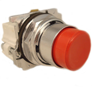 Eaton 10250T25R 30mm Assembled Pushbutton, Red, Momentary Eaton 10250T25R