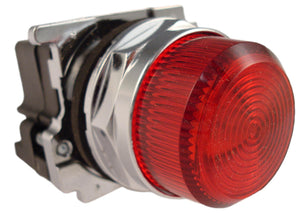 Eaton 10250T34R 30mm Assembled Indicator Light, Red, 10250T Eaton 10250T34R
