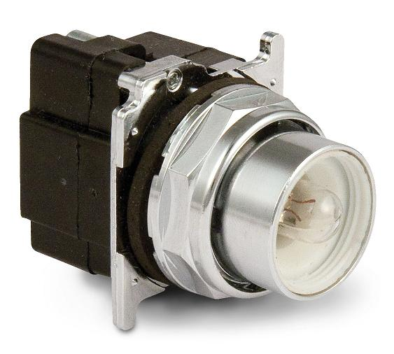 Eaton 10250T411 30.5 mm, Heavy-Duty, Pushbutton Operator, Flush, No Lens Eaton 10250T411