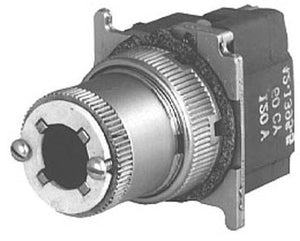 Eaton 10250T5971 Selector Switch, 30mm, w/o Button, 2-Position, Illuminated, 120VAC Eaton 10250T5971