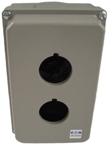 Eaton 10250TN12 Enclosure, 2 Element, Die Cast, 30mm, NEMA 4/4X/12/13, Deep Eaton 10250TN12
