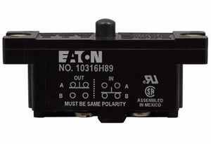 Eaton 10316H89 Limit Switch, Compact Precision, Momentary Eaton 10316H89