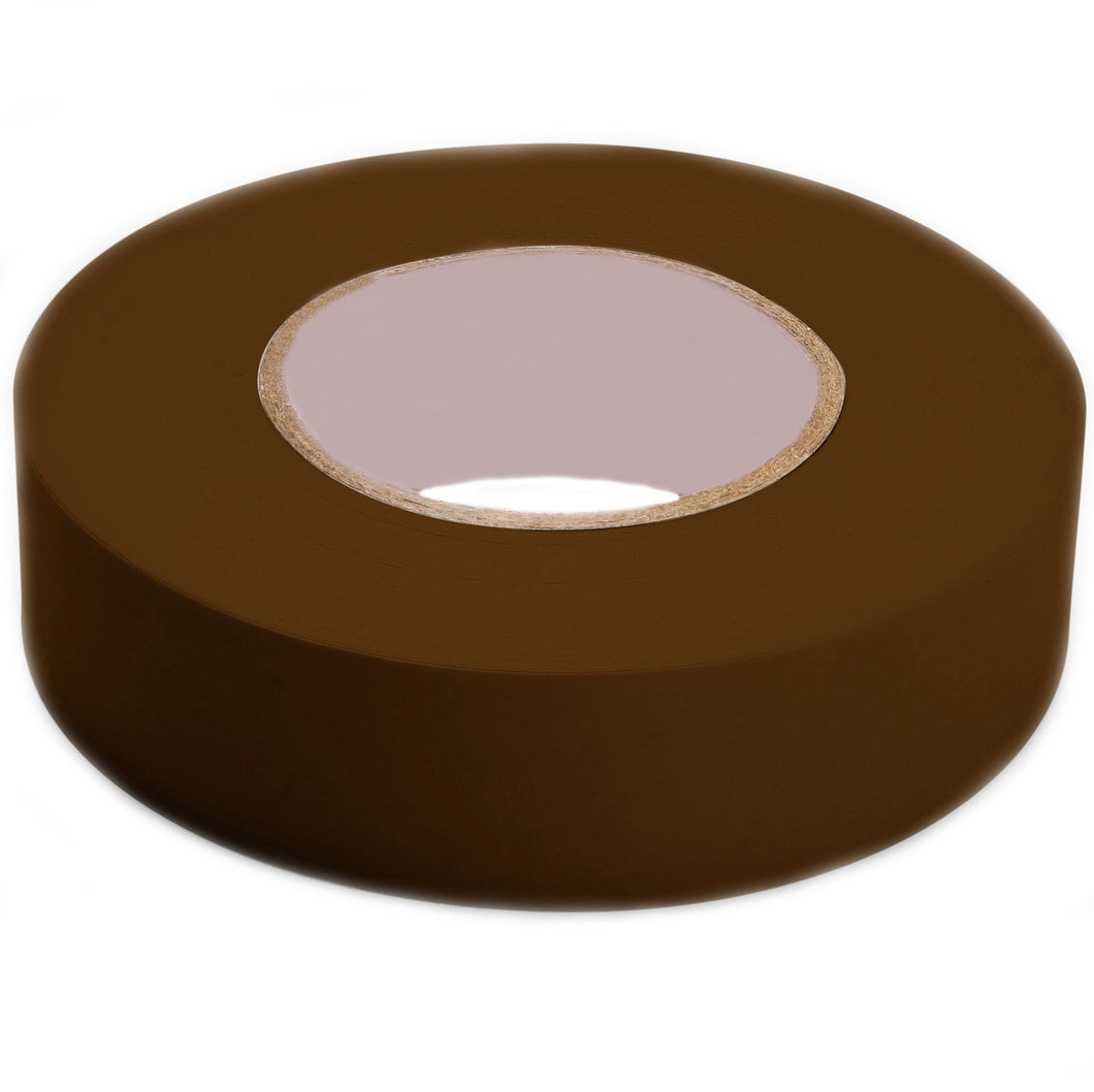 Shurtape 104839 Color Coding Electrical Tape, Vinyl, Brown, 3/4