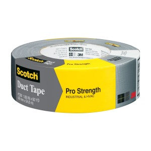 3M 1260-A Pro Strength Duct Tape, 1.88
