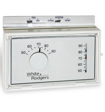 White-Rodgers 1F56N-444 Mechanical Thermostat  White White-Rodgers 1F56N-444