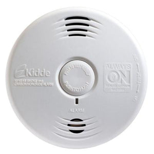 Kidde Fire 21010067 Smoke Alarm, 10 Year Sealed Lithium Battery, 85 dB, White Kidde Fire 21010067