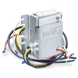 White-Rodgers 24A05E-1 Thermostat, Dual Level Temp Controller, 208V White-Rodgers 24A05E-1