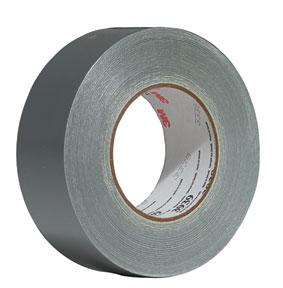 3M 3939-48mmx55m Utility Duct Tape, 48mm x 54.8m, Silver, 9 mil 3M 3939-48mmx55m