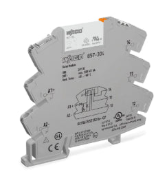 Wago 857-304 Relay Module, Nominal Input Voltage: 24 VDC Wago 857-304
