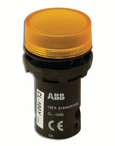 ABB CL-100Y 22mm Indicator Light, Yellow ABB CL-100Y