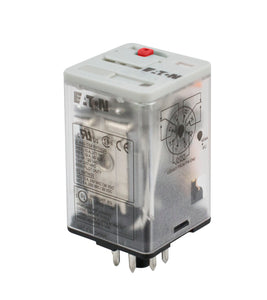 Eaton D3RF2B General Purpose Relay, 8 Pin, DPDT, 240V AC Eaton D3RF2B
