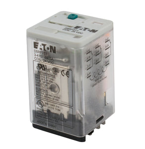 Eaton D5RF3A Relay, D5 General Purpose, 11 Blade, 3PDT Contacts, 120 VAC Coil Eaton D5RF3A