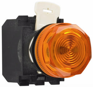 Eaton E22H9X10 22mm Assembled Indicator Light, Amber, E22 Eaton E22H9X10