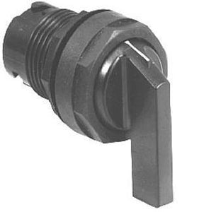 Eaton E22VB51 22mm Selector Switch, Lever Type, Black, E22 Eaton E22VB51