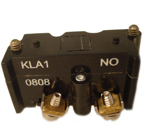 Eaton E30KLA1 Pilot Device, 30mm Contact Block, Multifunction, 1 NO, E30 Eaton E30KLA1