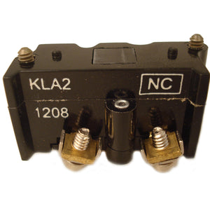 Eaton E30KLA2 Pilot Device, 30mm Contact Block, Multifunction, 1 NC, E30 Eaton E30KLA2