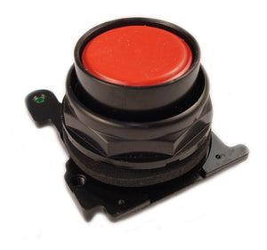 Eaton E34PB2 30mm Corrosion Resistant Pushbutton, Red Eaton E34PB2