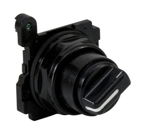 Eaton E34VHBK1 30mm Selector Switch, Knob Type, E34 Eaton E34VHBK1