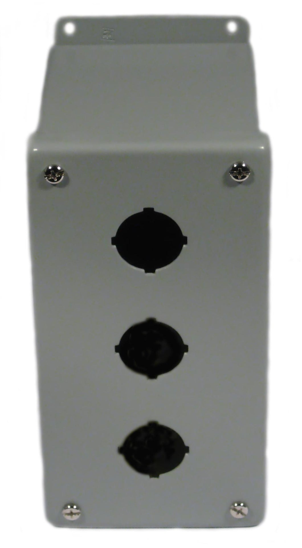 nVent Hoffman E3PBX Enclosure, Pilot Device, 30 mm, 3 Hole, Steel, Type 12/13 nVent Hoffman E3PBX
