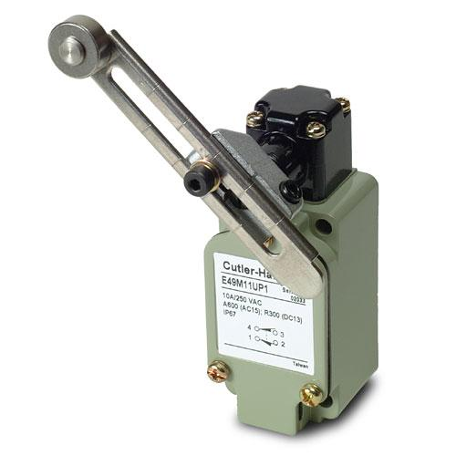 Eaton E49M11UP1 Limit Switch, Assembled, Adjustable Roller Eaton E49M11UP1