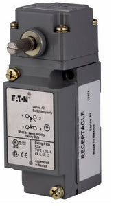 Eaton E50AR1 Limit Switch, Assembled, Side Rotary, Standard Spring Return Eaton E50AR1