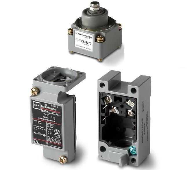 Eaton E50AT2 Limit Switch, Assembled, Top Pushbutton Eaton E50AT2