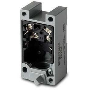 Eaton E51RA Sensor, Receptacle, Photoelectric, Limit Switch Style, E51 Series Eaton E51RA