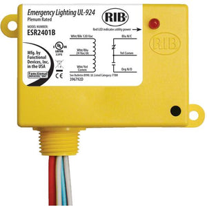 Functional Devices ESR2401B UL924 Emergency Bypass / Shunt Relay Functional Devices ESR2401B