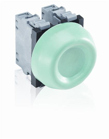 ABB KP6-40G Extreme Duty Pushbutton, Green ABB KP6-40G
