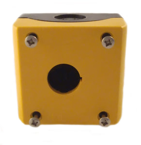 Eaton M22-IY1-PG Pilot Device, 22mm, Enclosure, 1 Element, Polycarbonate, Yellow Eaton M22-IY1-PG