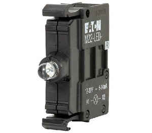 Eaton M22-LED-R 22mm Lamp Block, Red, LED, M22 Eaton M22-LED-R