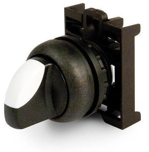 Eaton M22S-WKV 22mm Selector Switch, Knob Type, Black, M22 Eaton M22S-WKV